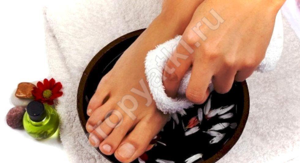 Как отмыть грязные ноги